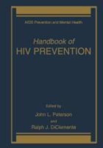 Handbook of HIV Prevention