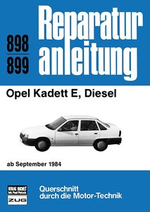 Opel Kadett E, Diesel ab September 1984