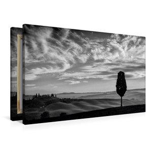 Premium Textil-Leinwand 90 cm x 60 cm quer Blick auf Belvedere