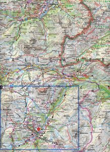 Arlberg, Verwallgruppe 1:50 000