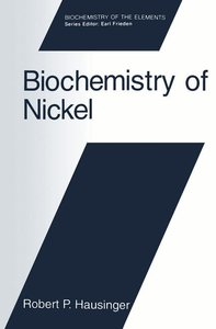 Biochemistry of Nickel