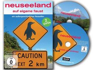 Neuseeland auf eigene Faust: Nord und Südinsel auf 2 DVD