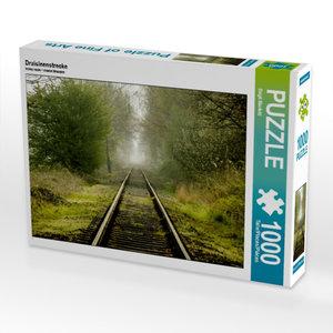 Draisinenstrecke 1000 Teile Puzzle quer