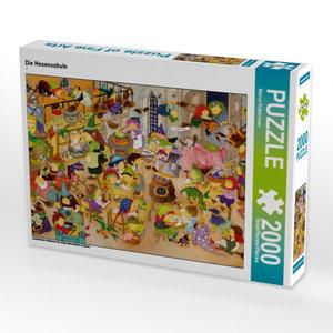 Die Hexenschule 2000 Teile Puzzle quer