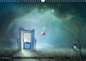 Auf neuen Wegen im Reich der Fantasie (Wandkalender 2019 DIN A3