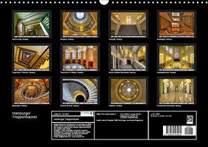 Hamburger Treppenhäuser (Wandkalender 2019 DIN A3 quer)