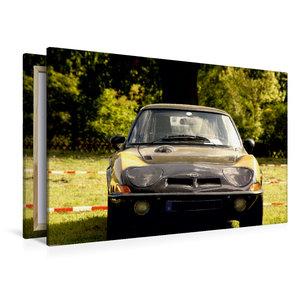 Premium Textil-Leinwand 120 cm x 80 cm quer Opel GT