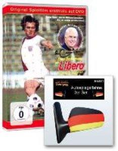 Libero - Spielfilm über Franz Beckenbauer (+ 2 Autospiegelfahnen