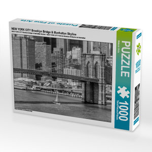 CALVENDO Puzzle NEW YORK CITY Brooklyn Bridge & Manhattan Skylin