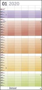 Familienplaner Bunte Wochen Kalender 2020