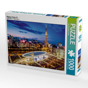 Nagoya Oasis 21 1000 Teile Puzzle quer