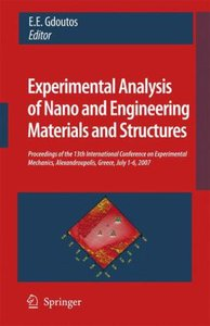 Experimental Analysis of Nano and Engineering Materials and Stru