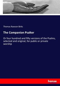 The Companion Psalter