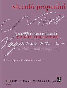 3 Duetti für Violine und Violoncello