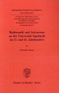 Mathematik und Astronomie an der Universität Ingolstadt im 15. u