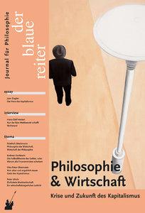 Der Blaue Reiter 30. Journal für Philosophie / Philosophie und W