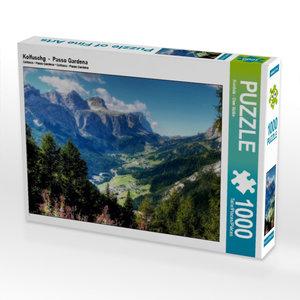 Kolfuschg - Passo Gardena 1000 Teile Puzzle quer