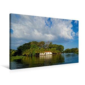 Premium Textil-Leinwand 75 cm x 50 cm quer Granada, Nicaragua