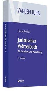 Juristisches Wörterbuch