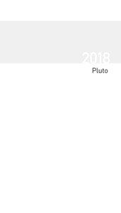 Taschenkalender Pluto geheftet Einlage 2018