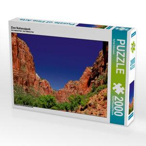 Zion Nationalpark 2000 Teile Puzzle quer