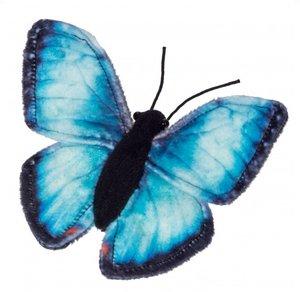 Hermann Teddy 935346 - Himmelsfalter, Schmetterling 15 cm
