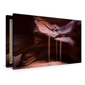 Premium Textil-Leinwand 90 cm x 60 cm quer Antelope Canyon - Ari