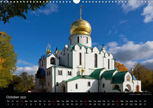 Monuments of Russia 2020 (Wall Calendar 2020 DIN A3 Landscape)