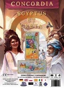 Concordia, Aegyptus et Creta (Spiel-Zubehör)