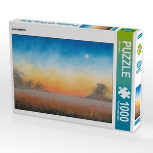 Getreidefeld 1000 Teile Puzzle quer