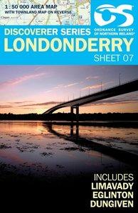 Irish Discovery Series 07. Londonderry 1 : 50 000