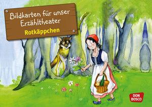 Bildkarten für unser Erzähltheater: Rotkäppchen