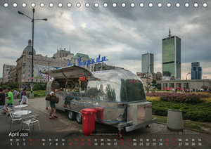 Warschau live (Tischkalender 2020 DIN A5 quer)