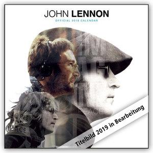 John Lennon 2019 - 18-Monatskalender