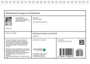 Mittelhessens Burgen und Schlösser