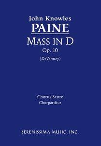 Mass in D, Op. 10 - Chorus Score