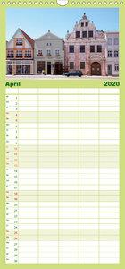Geheimnisvoller Spreewald - Familienplaner hoch (Wandkalender 20