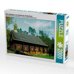 Altes Schulhaus von Jetrichovice (Tschechien) 2000 Teile Puzzle