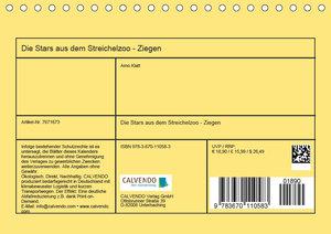 Ziegen - Die Stars aus dem Streichelzoo (Tischkalender 2019 DIN