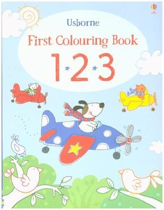 First Colouring Book 123