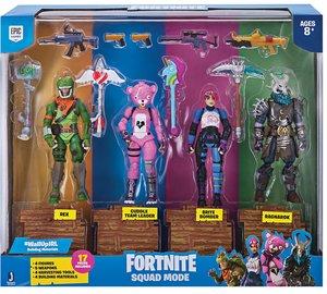 FORTNITE Squad Mode, 4-er Figuren Set, Spielfiguren, 10cm