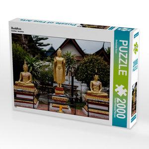 Buddhas 2000 Teile Puzzle quer