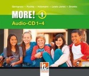 MORE! 1 Audio CD 1-4 NEU