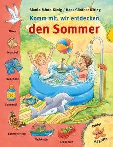 Komm mit, wir entdecken den Sommer - Bilder und Begriffe