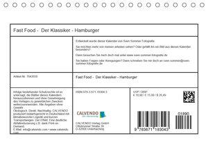 Fast Food Der Klassiker - Hamburger