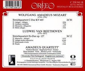 Streichquartette KV 465/op.127