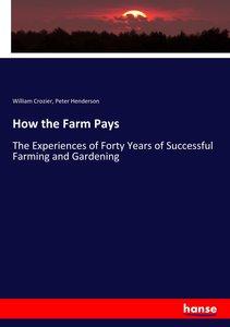 How the Farm Pays