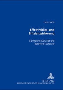 Effektivitäts- und Effizienzsicherung