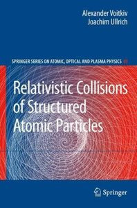Relativistic Collisions of Structured Atomic Particles