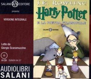 Harry Potter e la pietra filosofale letto da Giorgio Scaramuzzin